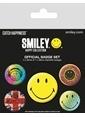 Pyramid International Rozet Seti - Smiley Classic BP80464 Renkli